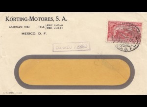 Mexico 1936: air mail to Merida