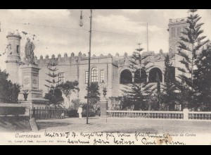 Mexico 1907: post card Cuernavaca to Feldkirch