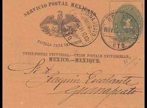 Mexico 1894: wrapper to Guadalajara