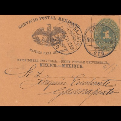 Mexico 1894: wrapper to Guadalajara