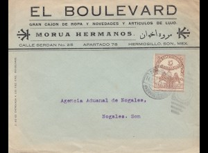 Mexico 1913: Hermosillo to Nogales. Son
