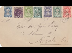 Mexico 1914: post card to Nogales
