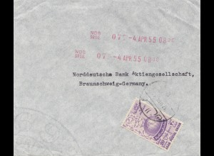 Jordan: 1955 Amman to Braunschweig
