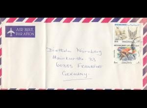Abu-Dhabi, letter to Frankfurt