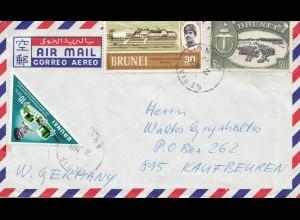 Brunei 1970 Seria to Kaufbeuren