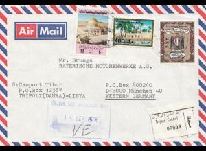 Libya: registered Tripoli/Dahra 1978 to BMW München