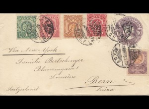Mexico: 1903: letter to Bern/Switzerland
