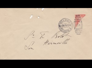 Mexico 1914: letter to Hermosillo
