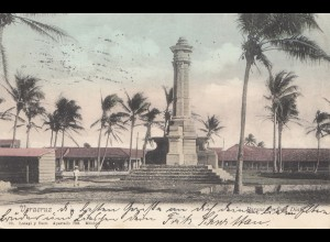 Mexico 1911: post card Veracruz to Leipzig