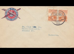 Mexico 1929: Merida to Dresden - Pluma Y Lapiz