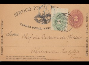 Mexico 1890: post card Guadalajana