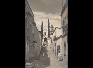 Mexico 1942: post card Guernavaca to Berlin, OKW censor