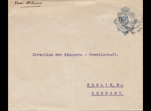 Surinam: letter U8 to Berlin