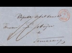 Ned. Indie 1868: Jokjokarta to Samarang