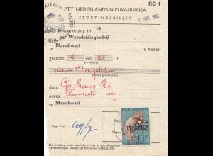 Ned. New Guinea: 1963 Manokwari