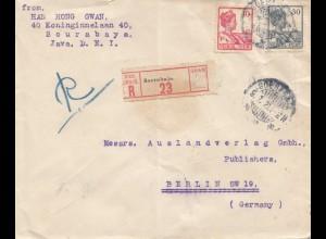 Java 1921: Registered Sourabaya to Berlin