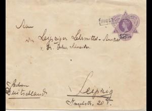 Ned. Indie 1914: Soerabaja to Leipzig - Cancel !!!