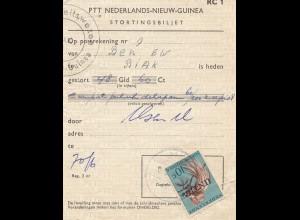 New Guinea: Stortingsbiljet