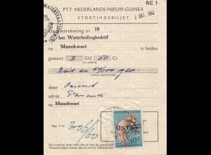 New Guinea: Manokwari Stortingsbiljet
