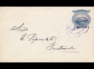 Nicaragua: 1908: Corinto to Guatemala