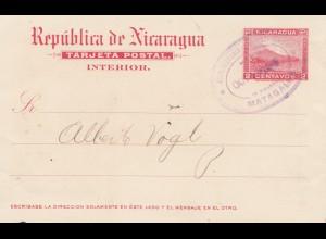 Nicaragua 1903: Post card Matagalpa