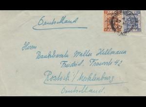 Palestine: 1927: Jerusalem to Rostock
