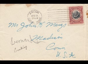 Panama 1921: Ancon to Madison/Conn
