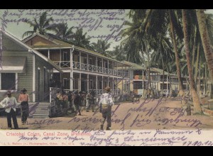 Panama 1912: post card Cristobai Colon to Kempten