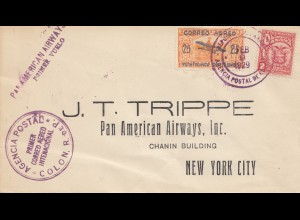 Panama 1929: Colon to New York City - Pan American Airway, Primer Vuelo