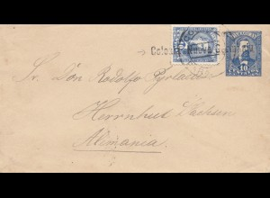 Paraguay 1897: Colonia Nueva Germania to Herrnhut/Germany - Deutsche Kolonie