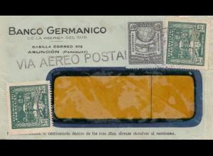 Paraguay air mail Asuncion