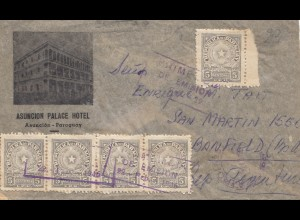 Paraguay 1946: Asuncion to Banfield/Argentina