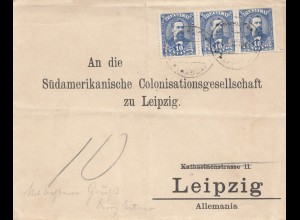 Paraguay 1897: Asuncion to Leipzig