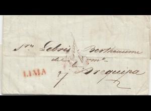 Peru 1827: Lima to Arequipa