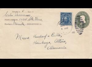Philippines 1922: Manila to Hamburg