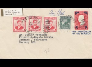 Philippines 1900: Cebu City to Ilmenau/Germany