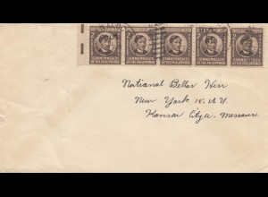 Philippines letter to New York
