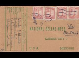 Philippines 1947: Catanauan to Kansas City/Missouri
