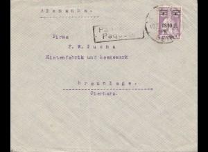 Mocambique 1940 Beira, Paquebot to Braunschweig