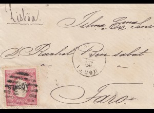 Acores: old letter to Faro