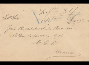 Acores: letter to France