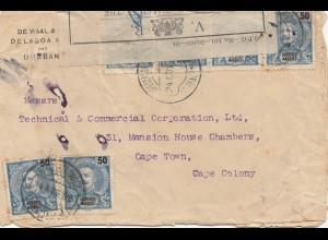 Mocambique 1899: Delagoa to Cape Town/Cape Colony