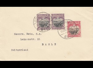Mocambique 1929: Beira to Basel/Switzerland