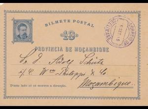Mocambique 1895: Quelimane to Mocambique