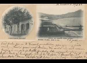 Cabo Verde: 1904: St. Vincent to Camburg
