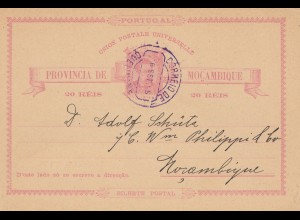 Mocambique 1915: post card
