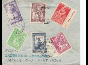 West India: letter from Mapuca-Goa to Marburg