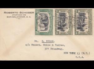 El Salvador 1948: San Salvador to New York