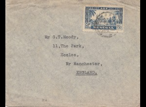 Senegal: letter to Manchester/England
