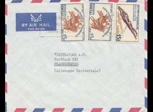 Senegal: air mail to Braunschweig